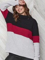 Parkhurst Colour Block Funnel Neck Sweater