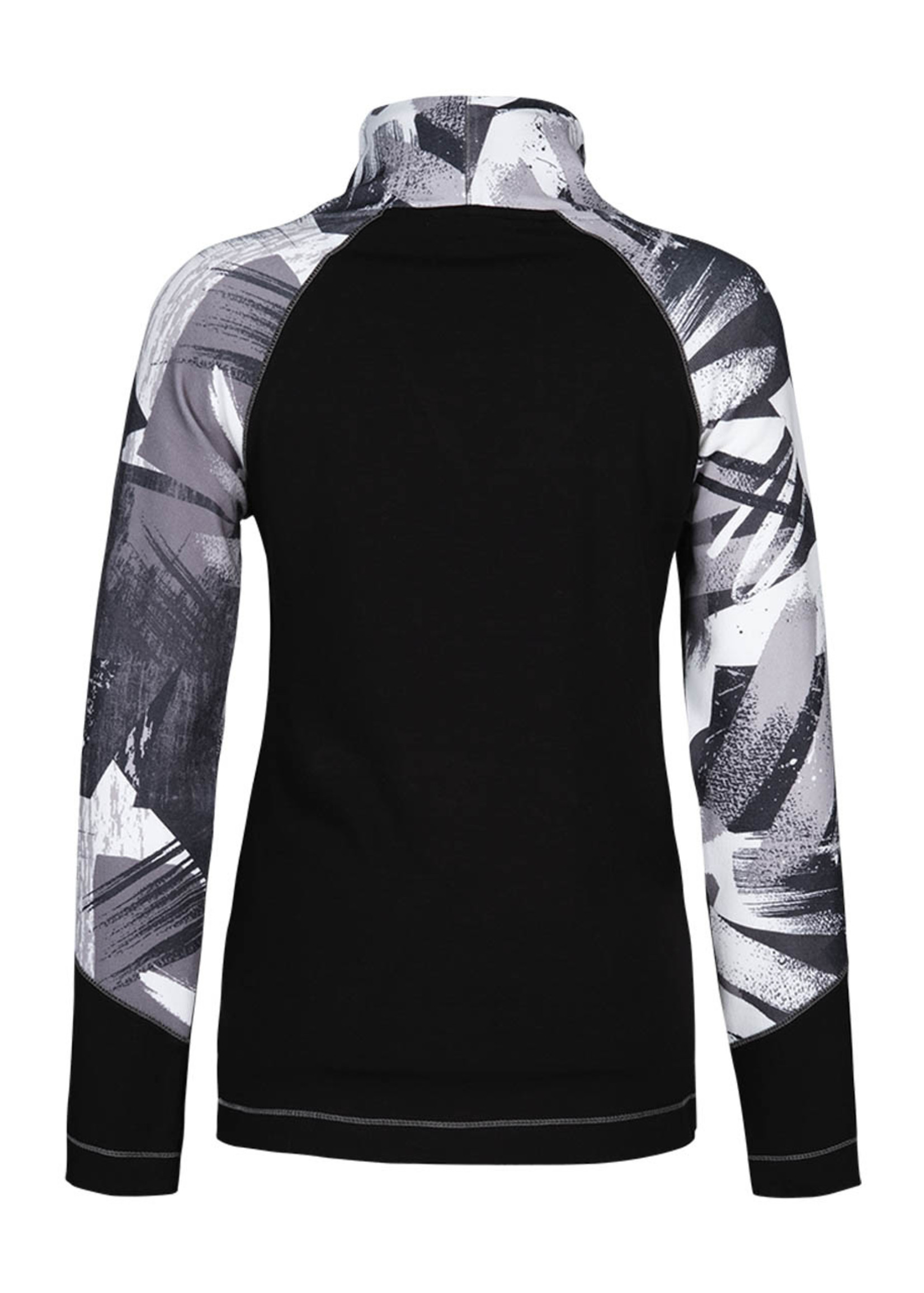 Dolcezza Dolcezza Abstract Two Tone Top