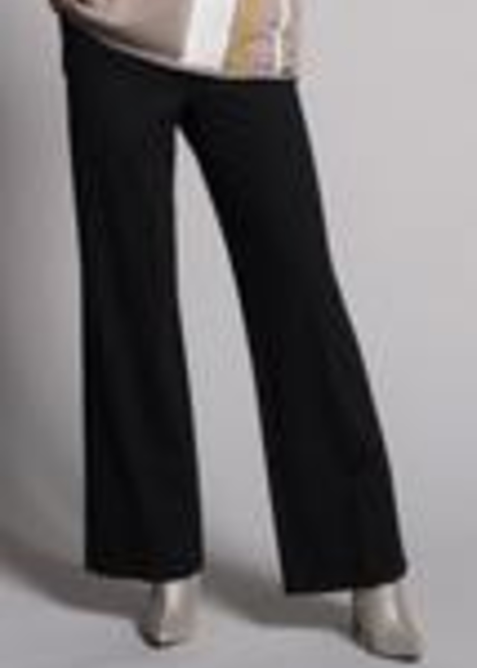 Picadilly Picadilly Black Wide Leg Pant