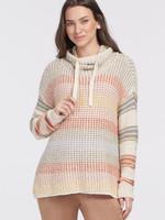 Tribal Funnel Neck Rainbow Sweater