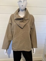 Ezze Wear Pullover Cowl with Oversize Pocket