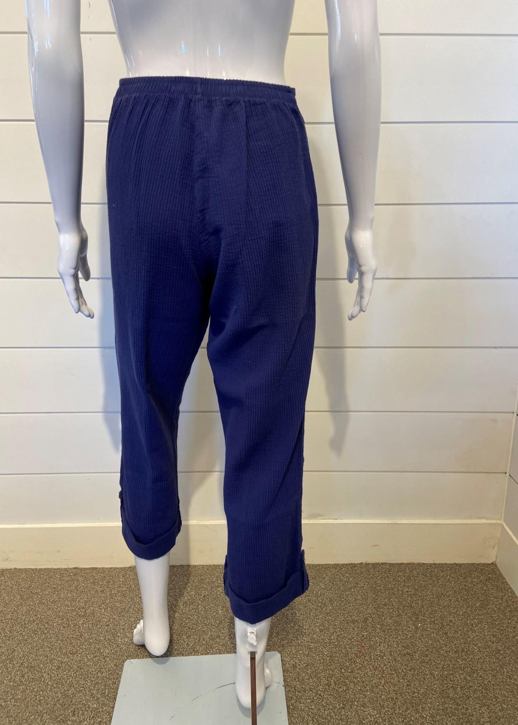 Ezze Wear Ezze Wear Cotton Pull-on Ankle Pant  Jada 614