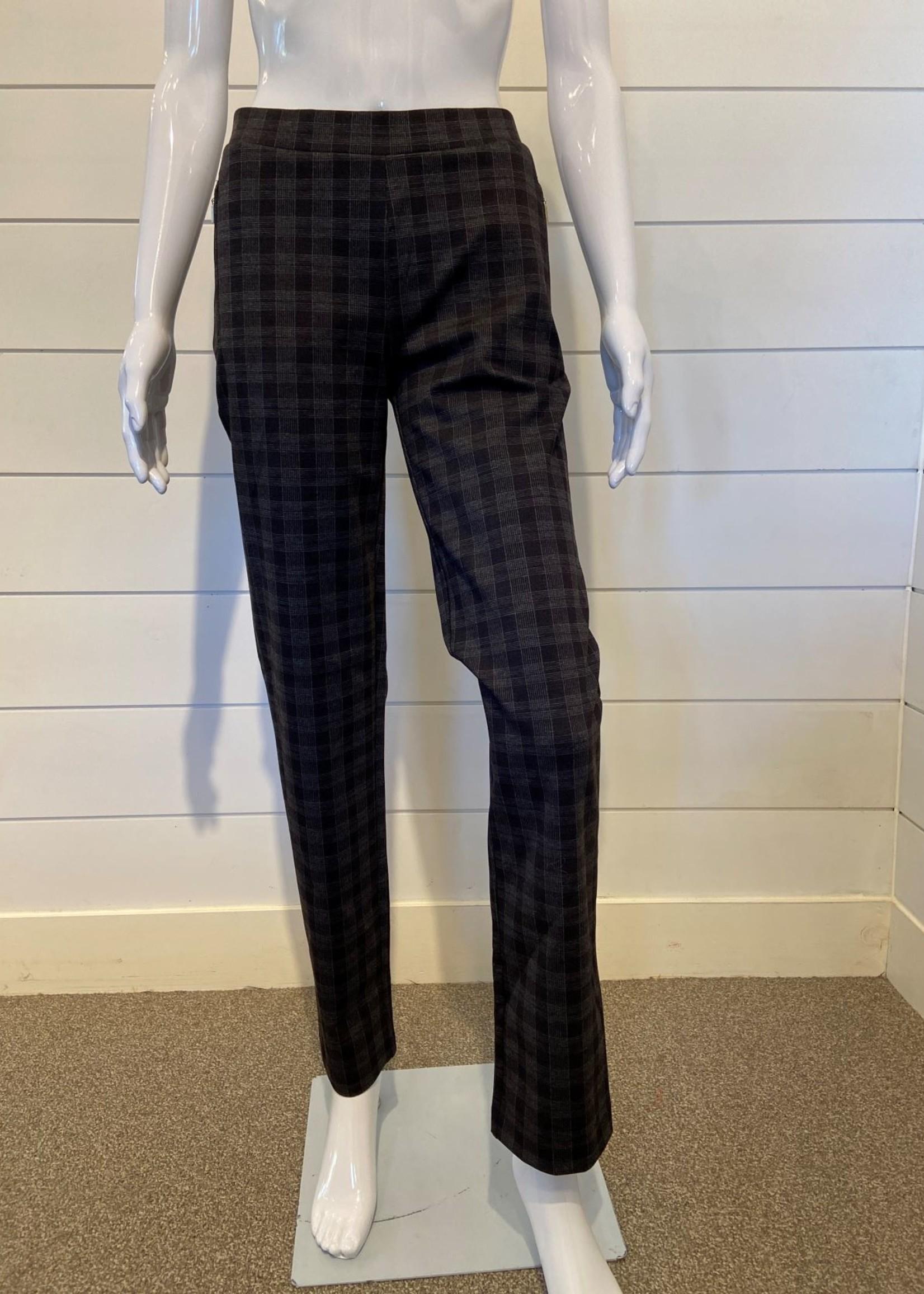 Mode De Vie Grey Plaid Pant