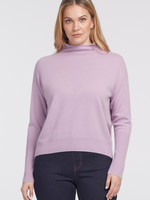 Tribal Cashmere Funnel Neck Sweater