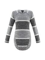 Marble Split Side Sweater