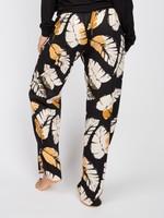 Cyberjammies Annie Black Leaf Pyjama Pants