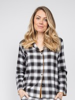 Cyberjammies Annie Brushed Check Pyjama Top