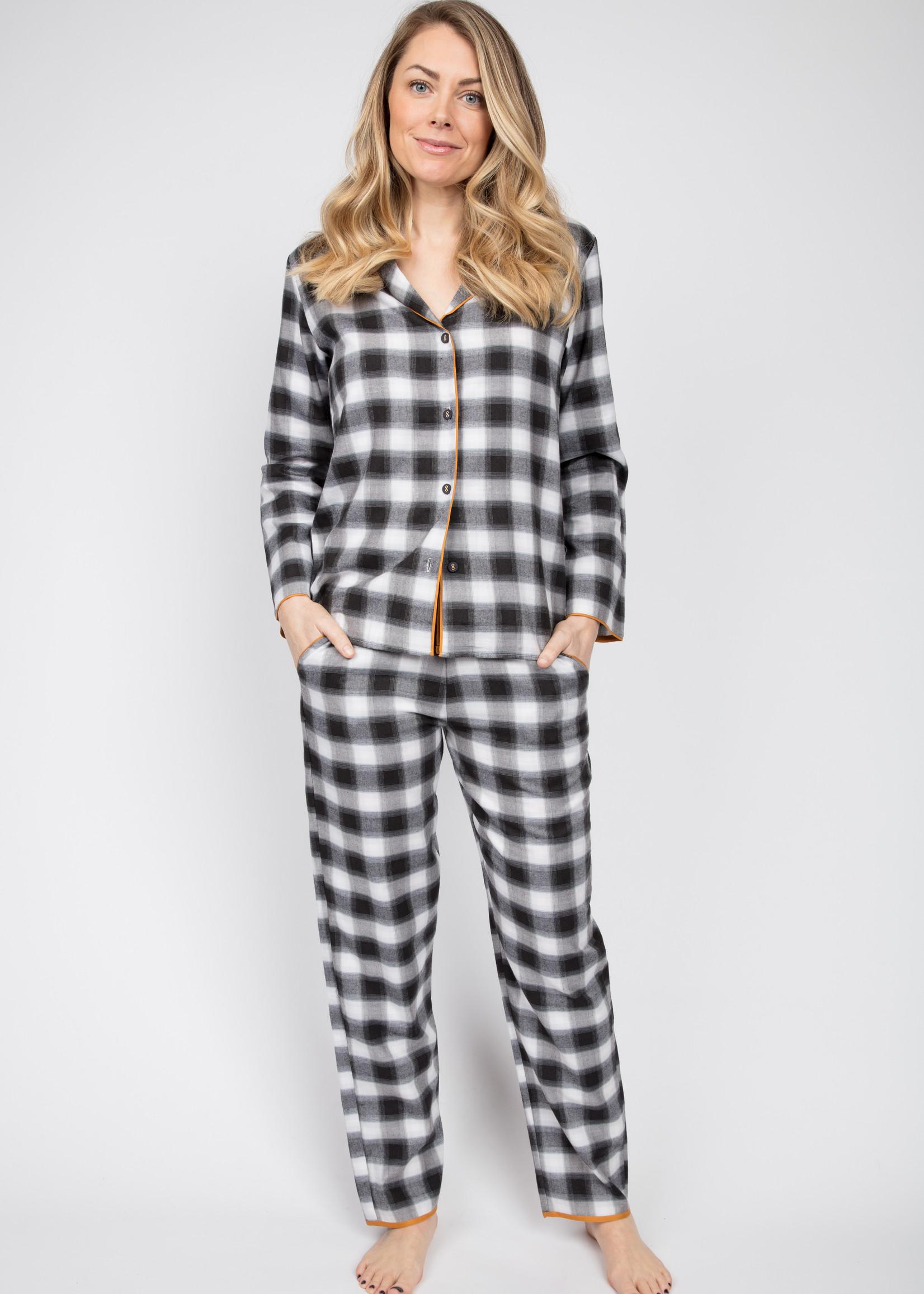 Cyberjammies Cyberjammies Annie Brushed Check Pyjama Top