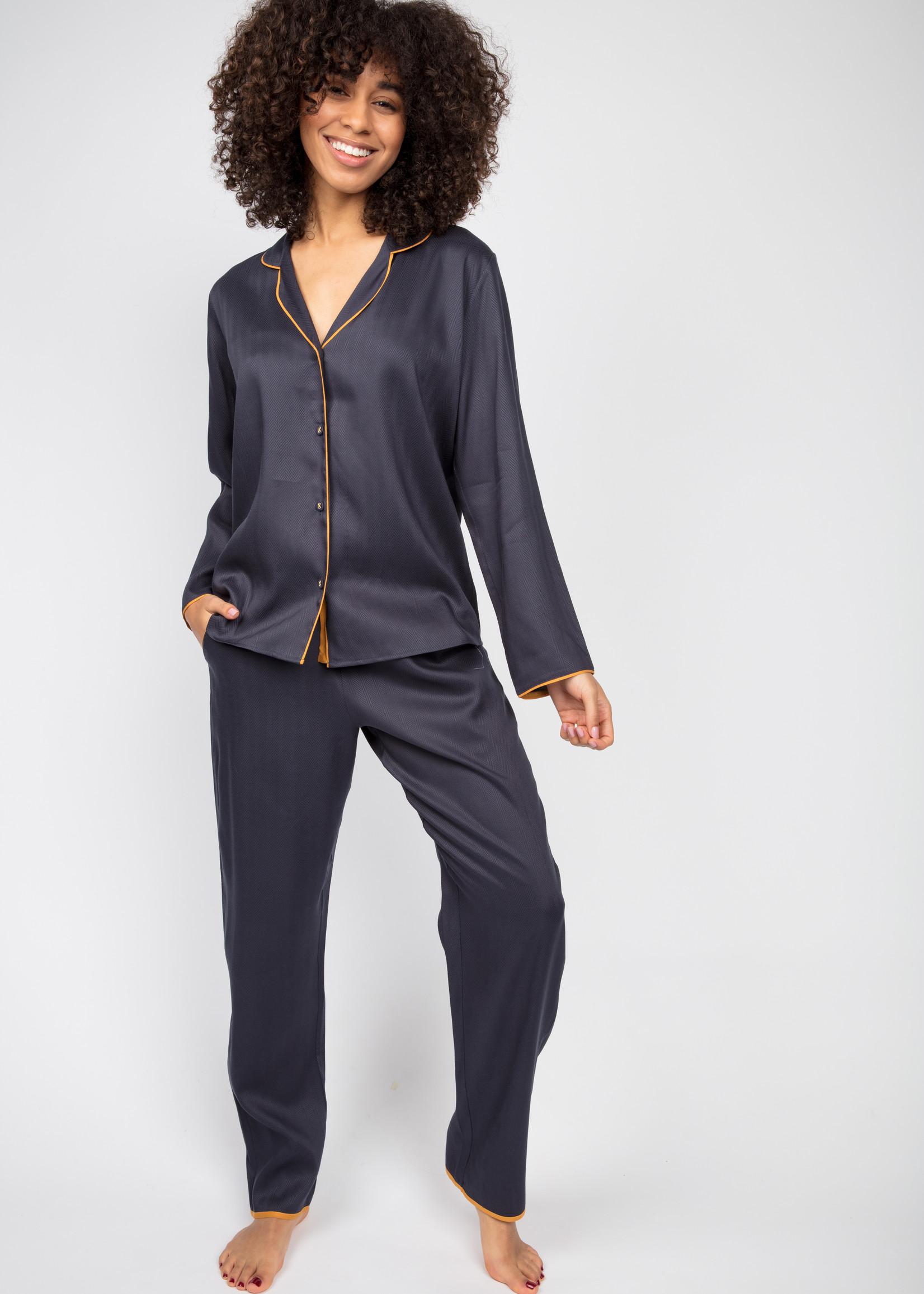 Cyberjammies Cyberjammies Rachel Herringbone Pyjama Top