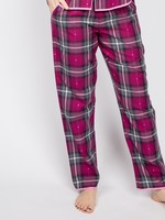 Cyberjammies Natasha Dobby Check Pyjama Pants