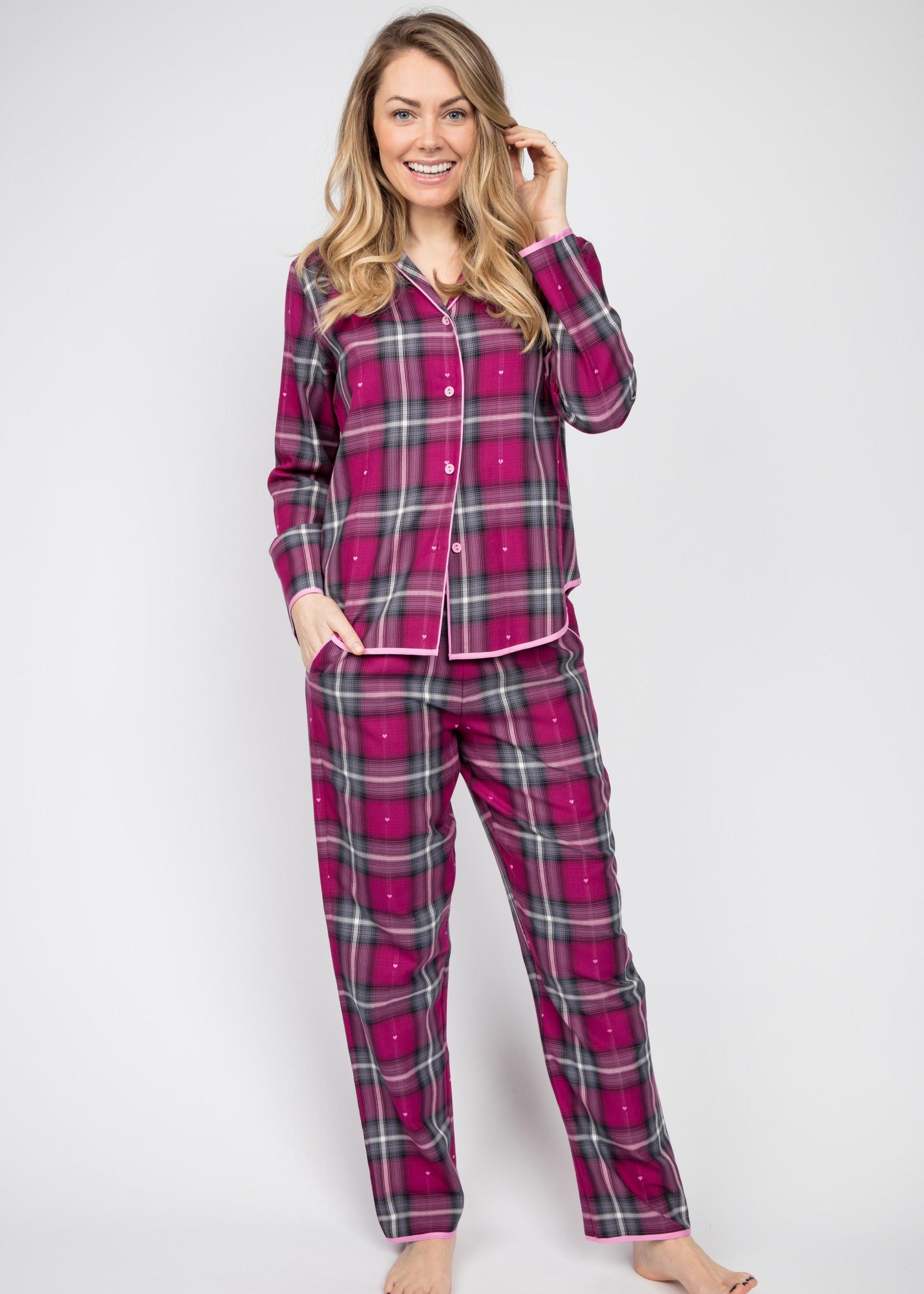 Cyberjammies Cyberjammies Natasha Dobby Check Pyjama Top