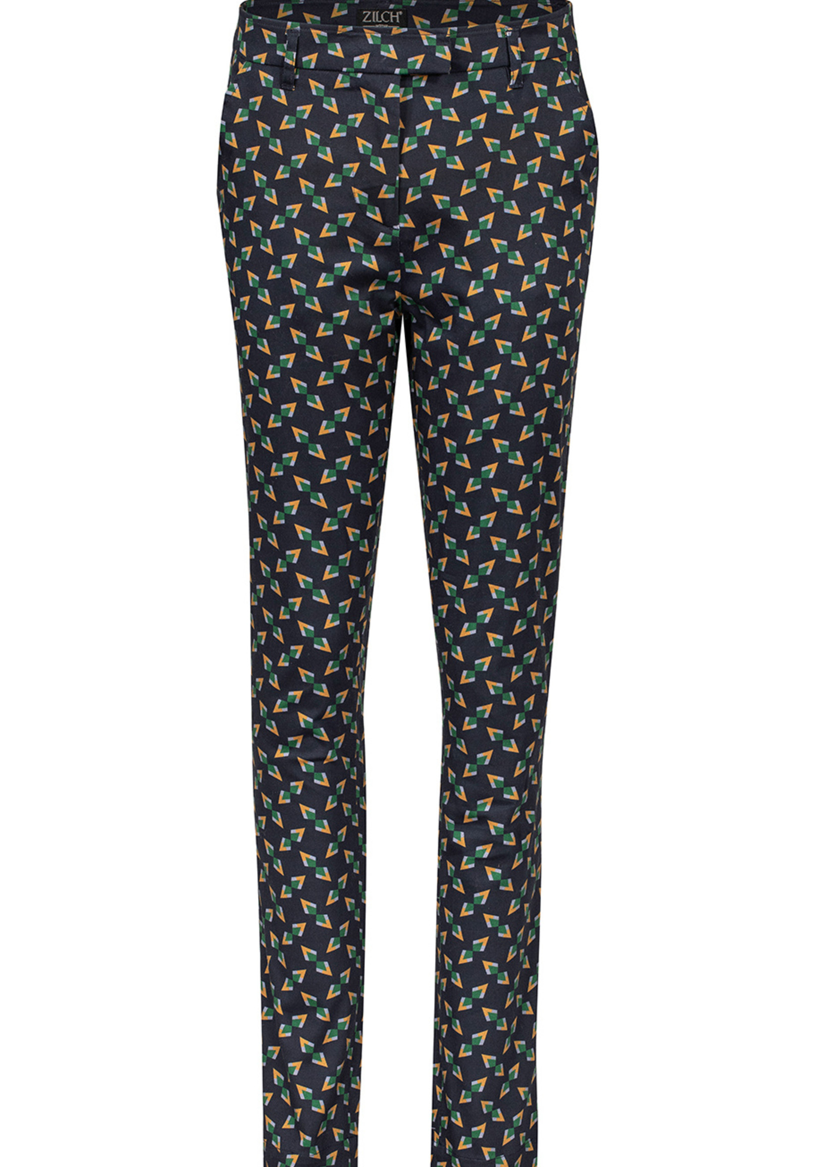 Zilch Zilch Printed Cotton Pants