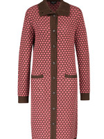 Zilch Polka dot Sweater Coat