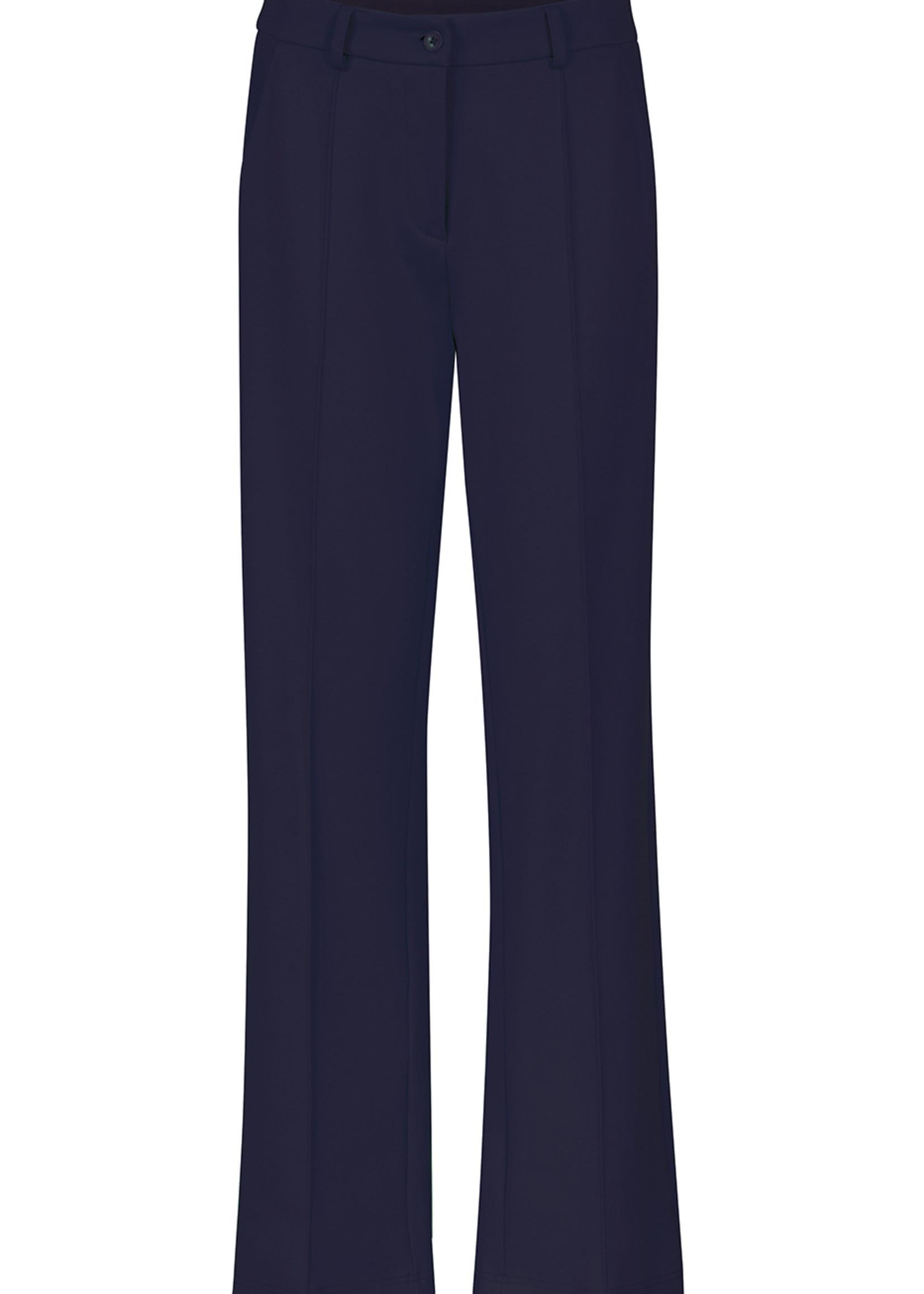 Zilch Zilch Navy Straight Leg Pants