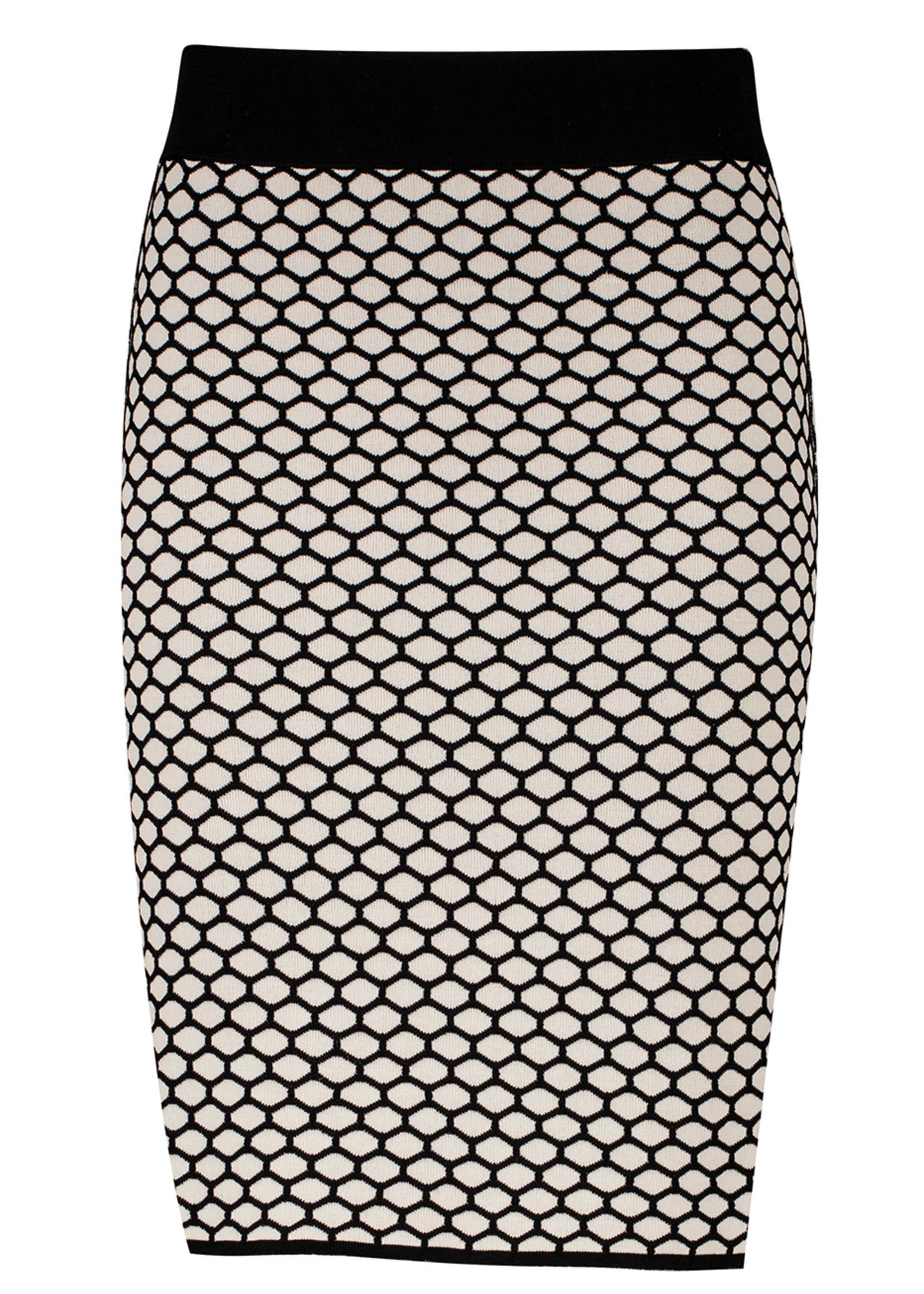 Zilch Zilch Reversible Honeycomb Knit Skirt