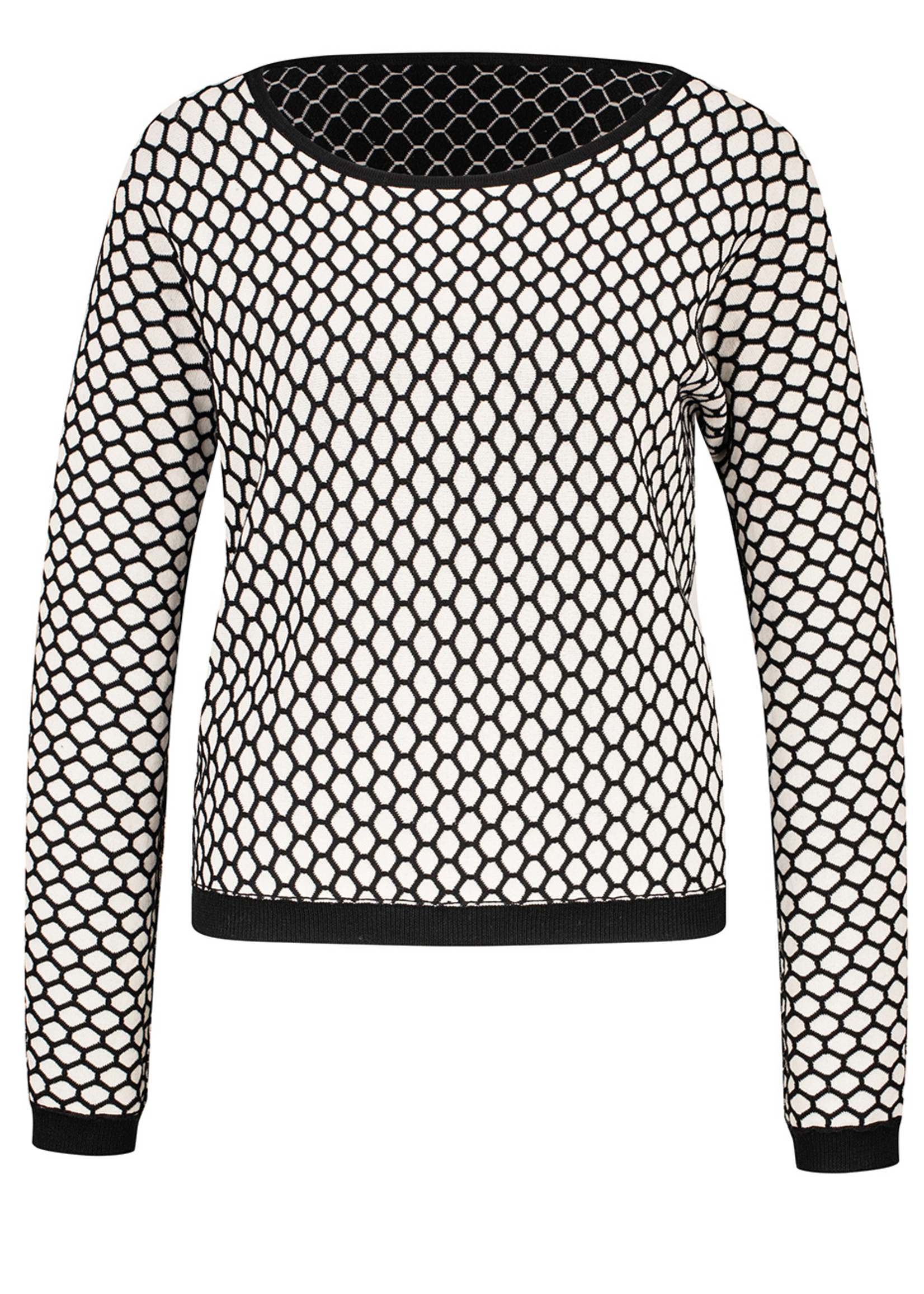 Zilch Zilch Reversible Honeycomb Sweater