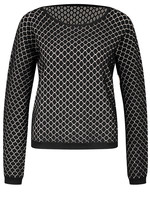 Zilch Reversible Honeycomb Sweater