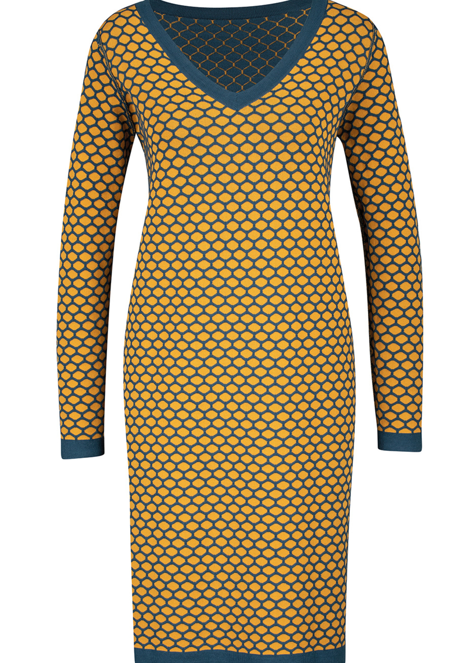 Zilch Zilch V-Neck Knit Dress
