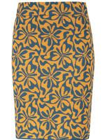 Zilch Knit Patterned Skirt