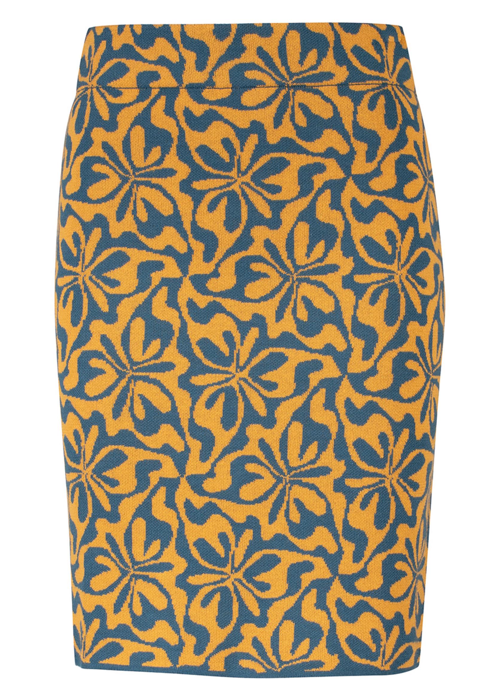 Zilch Zilch Knit Patterned Skirt