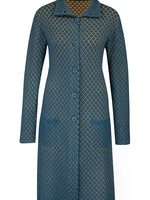 Zilch Patterned Mid Length Coat