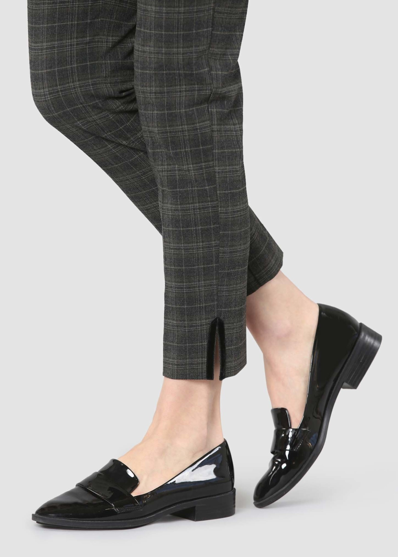 Lisette L Lisette L Plaid Ankle Pant - Westport