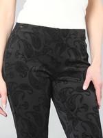 Lisette L Black Tone on Tone Pants
