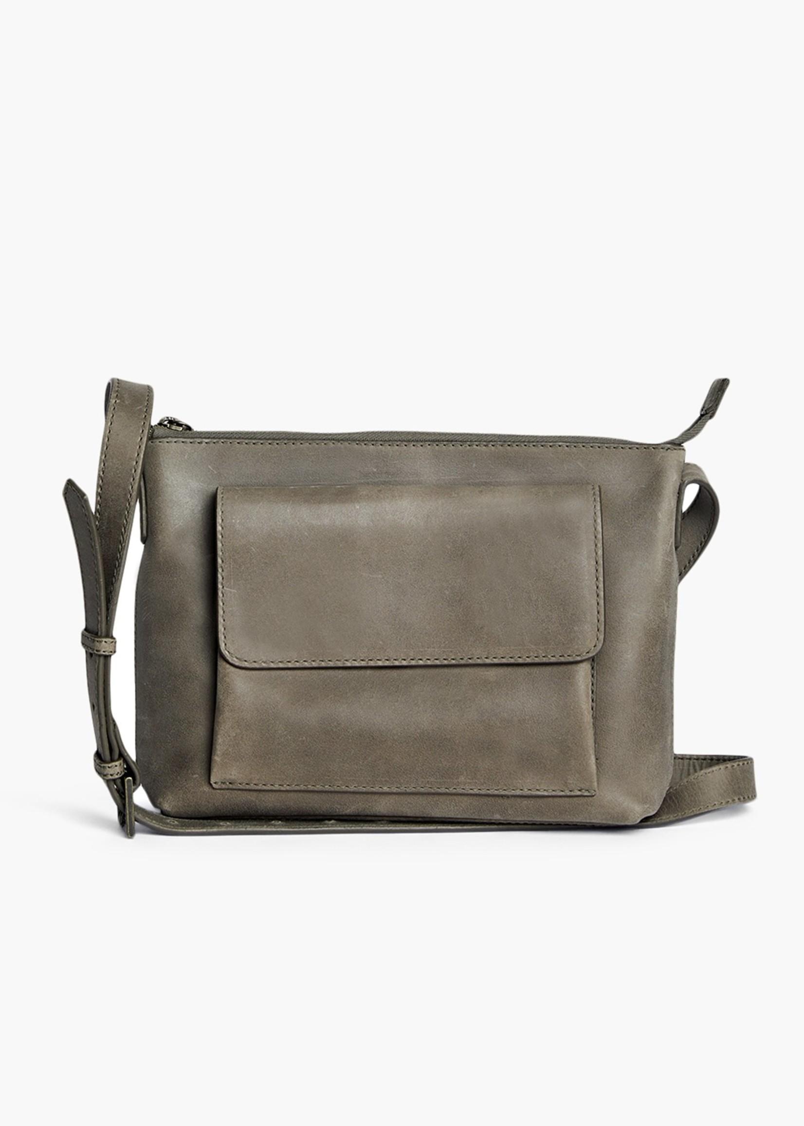 Able Leather Olivia Crossbody Leather Handbag