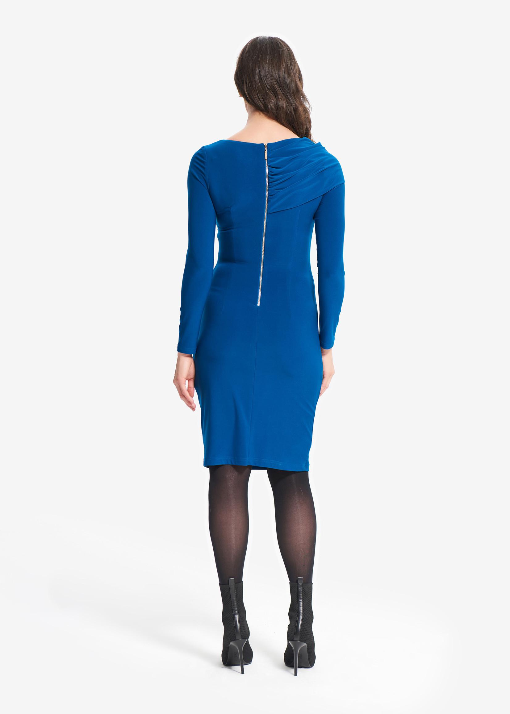 Joseph Ribkoff Dress with Side Ruching