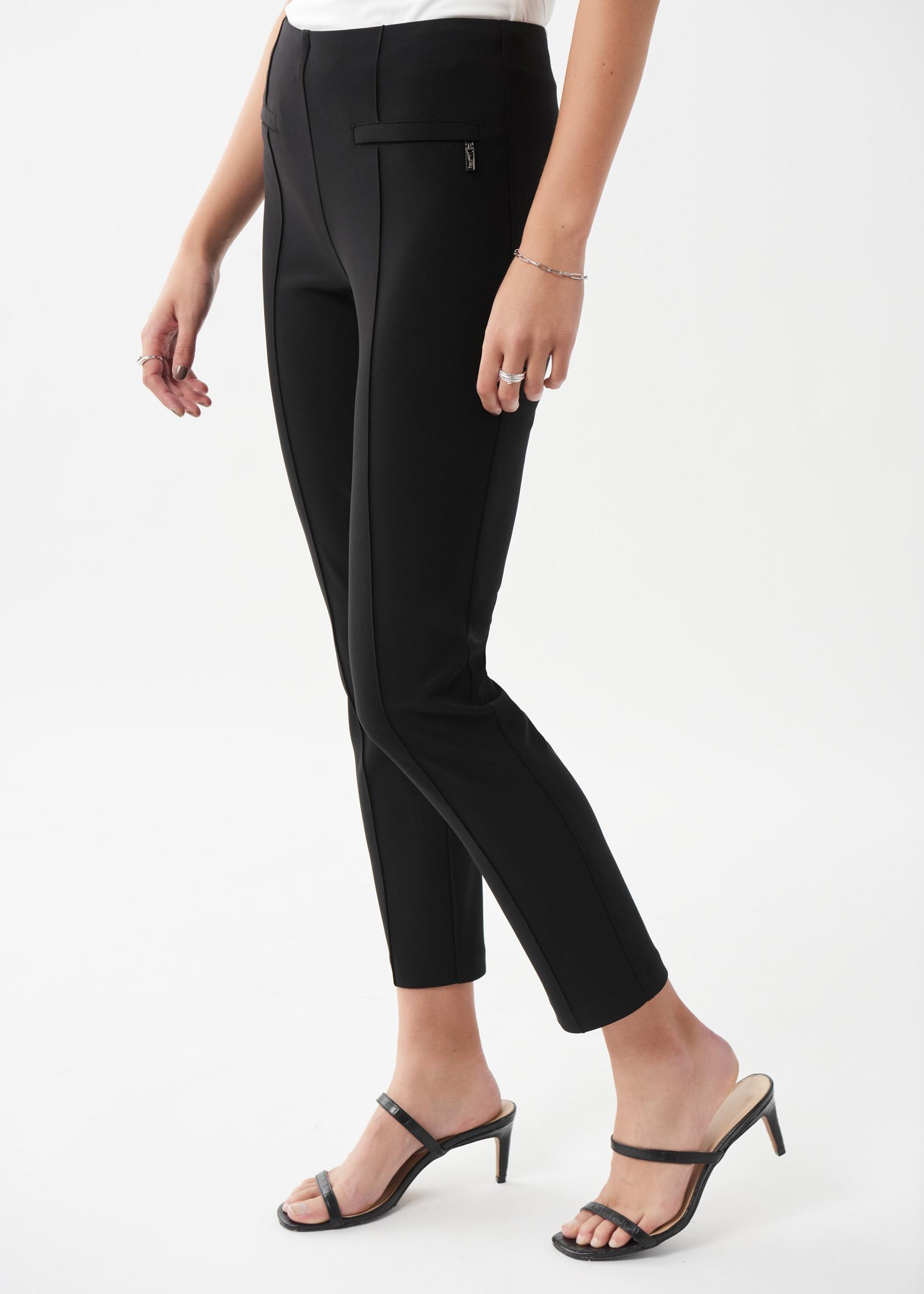 Joseph Ribkoff Black Pullon Ankle Pant