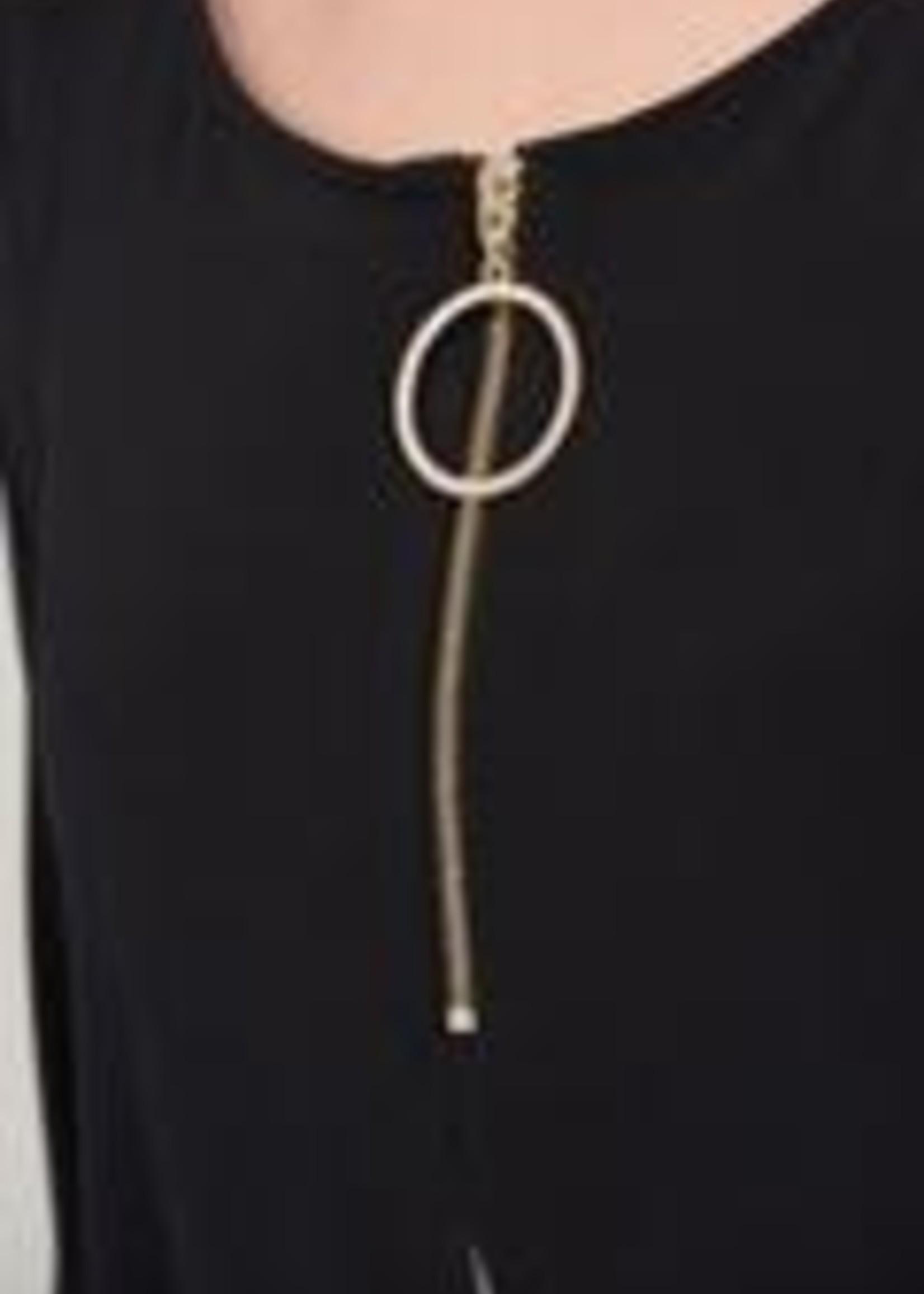 Joseph Ribkoff Split Layer Tunic Top