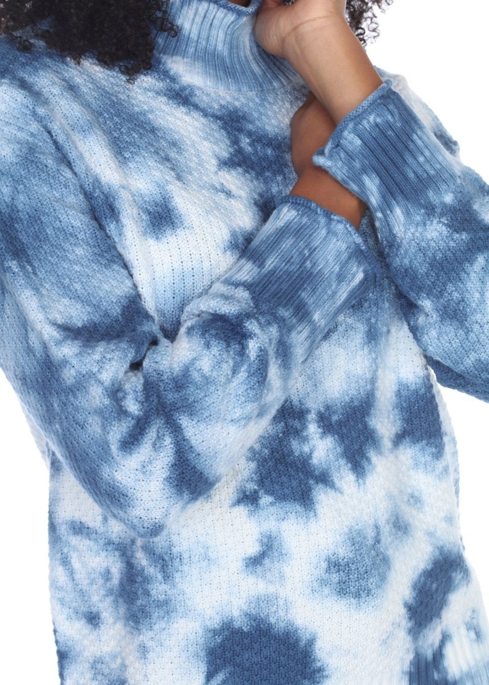 Neon Buddha Tie Dye Pullover