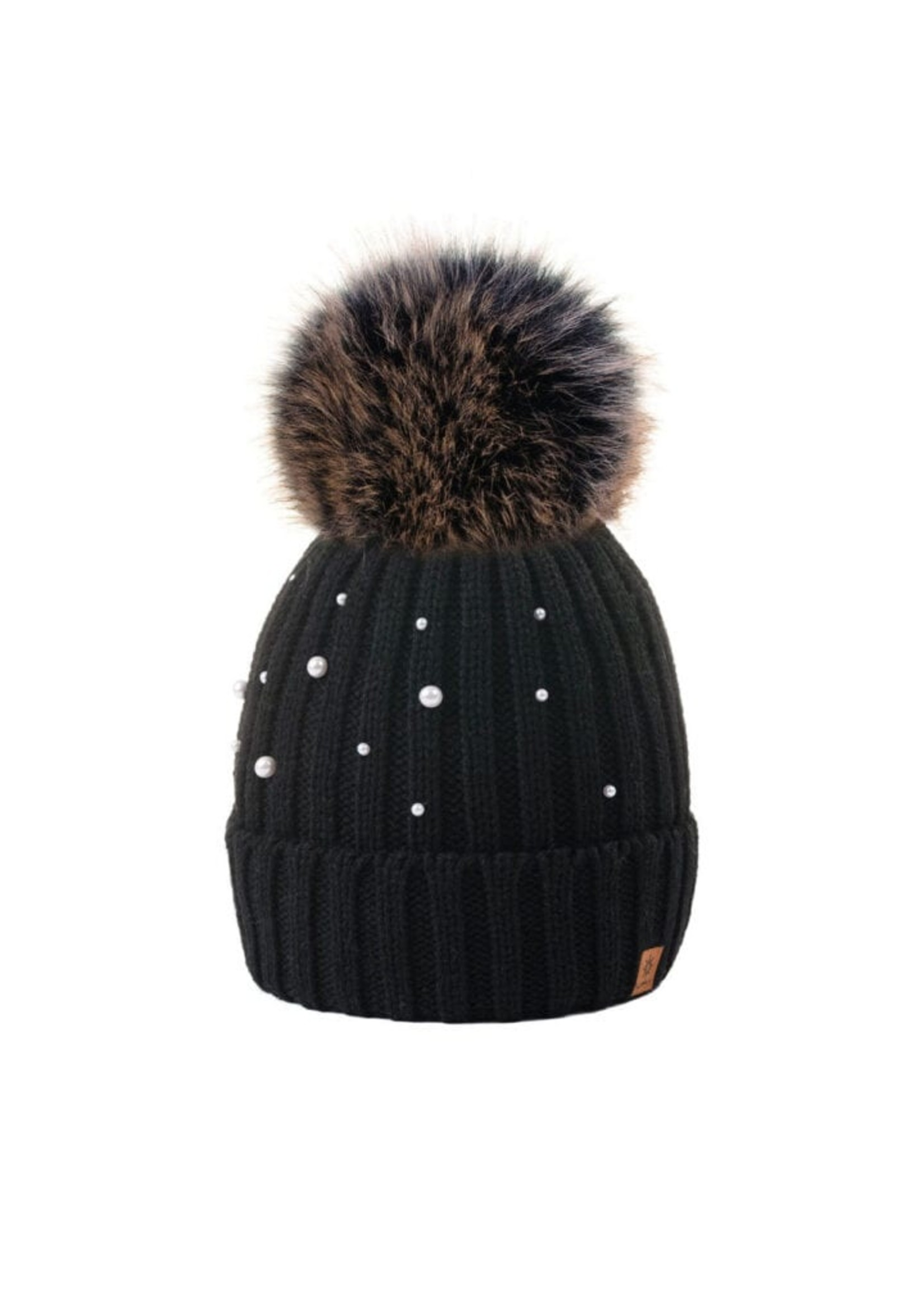 Woolk Toque w/ Pearls and PomPom