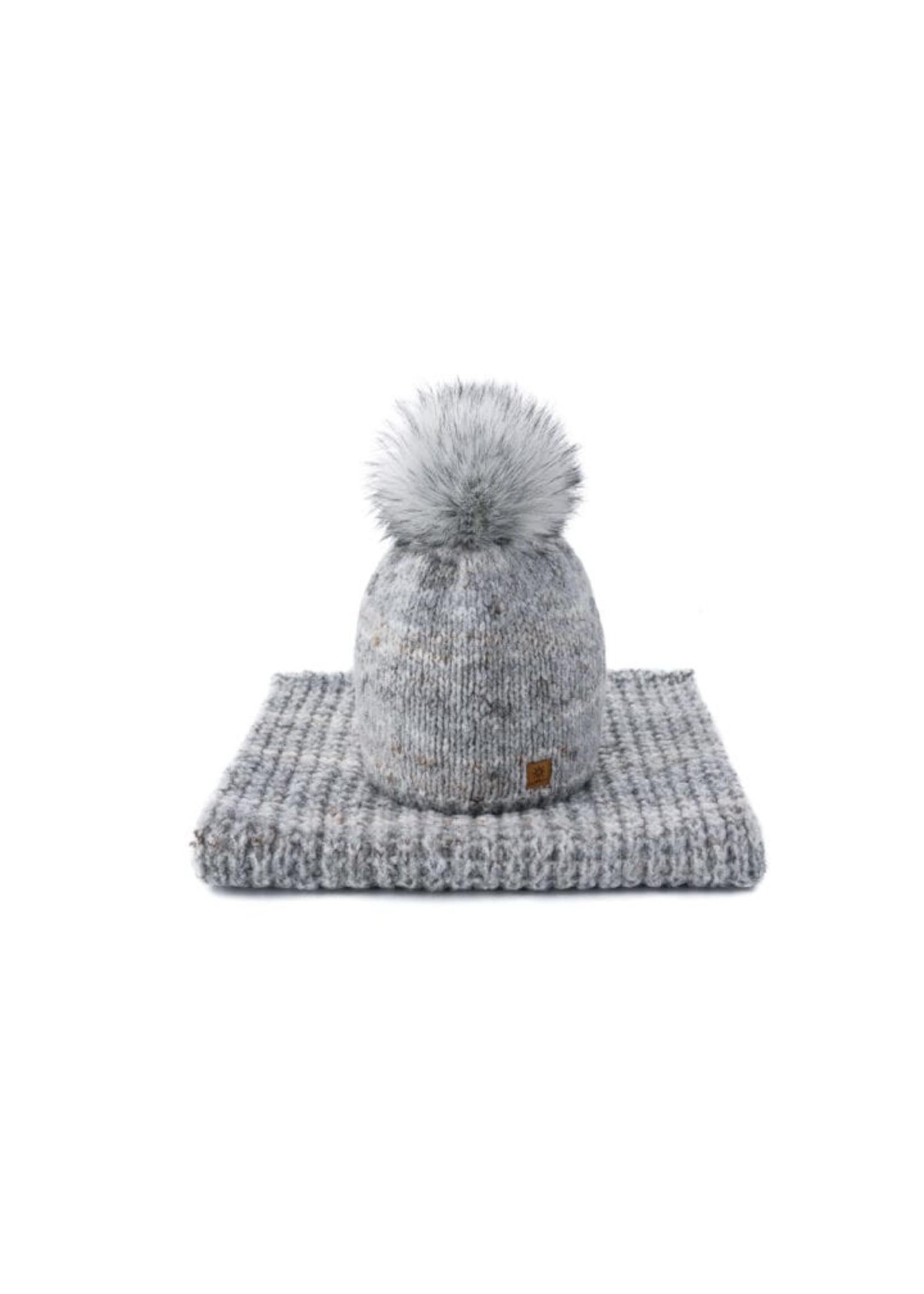 Woolk Wool Hat & Scarf Set