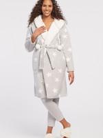 Tribal Reversible Hooded Sherpa Robe