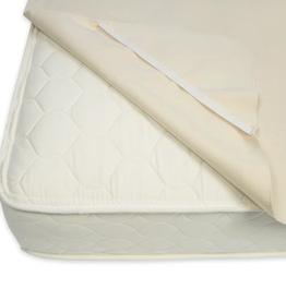 Naturepedic naturepedic organic waterproof twin mattress pad w/ straps
