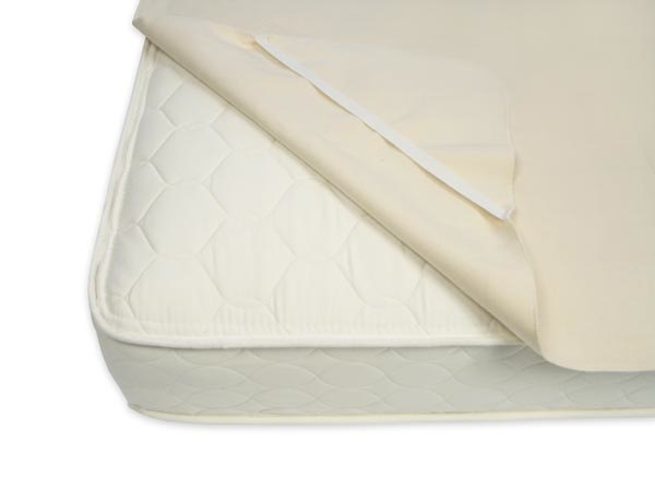 Naturepedic naturepedic organic waterproof twin mattress pad w/ straps