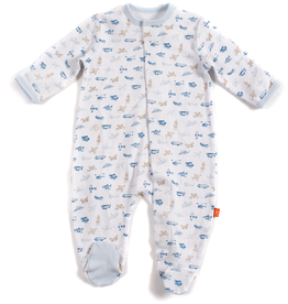 magnetic me magnificent baby footie - P-27922
