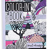 ooly travel size color-in book: whimsy