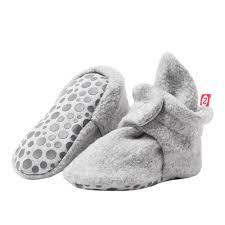 Zutano zutano fleece gripper booties