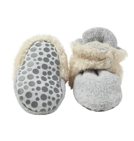 Zutano zutano fleece & furry booties
