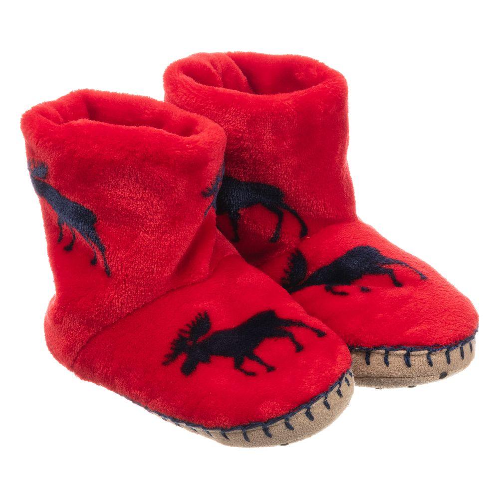 Hatley hatley fleece slippers - P-54896