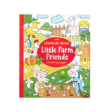 ooly color-in book: little farm friends