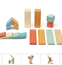 tegu (faire) tegu magnetic wooden block set - P-55730