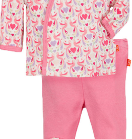 magnetic me magnificent baby love birds 3 pc kimono set