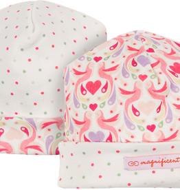 magnetic me magnificent baby love birds reversible hat