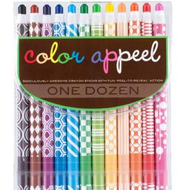 ooly color appeel crayon sticks (set of 12)