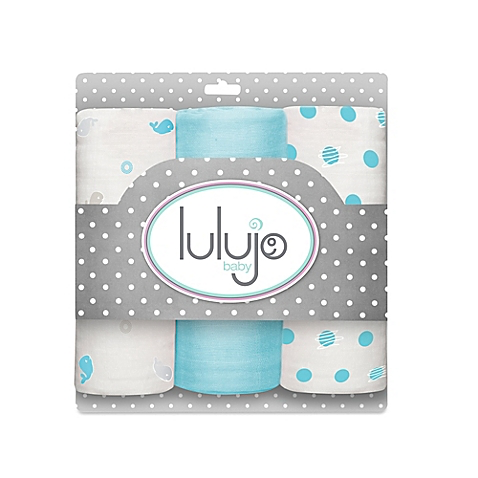 lulujo llj mini muslin set