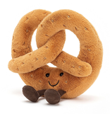 "Jellycat jellycat amuseable pretzel, 7"""