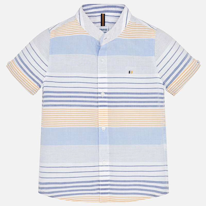 Mayoral mayoral ss striped buttondown